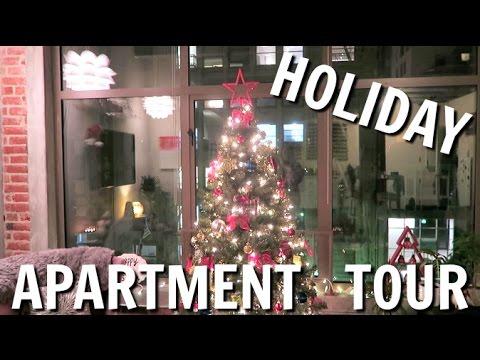 HOLIDAY APARTMENT TOUR! | VLOGMAS #6