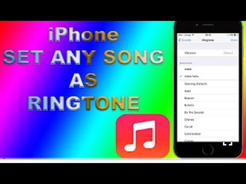 How to set ringtone on your iPhone in Tamil without use iTunes songs