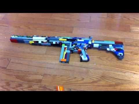 Lego gun that shoots !!