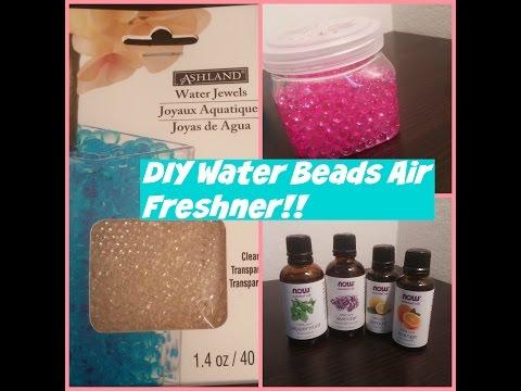 DIY water bead air freshner