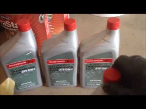 Honda Auto Transmission Fluid ATF - How to simply change yourself