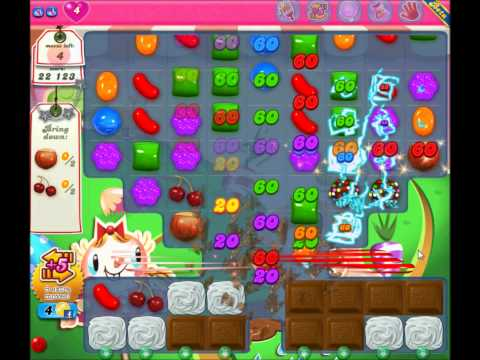 Candy Crush Saga - Two Chocolate Ball Switch!