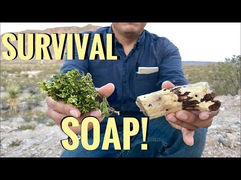 Desert Survival Soap: Yucca Root And Creosote