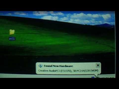 Installing a Sound Card (ES1370 PCI) to Windows XP Under Windows 98/ME Under Bochs 2.6