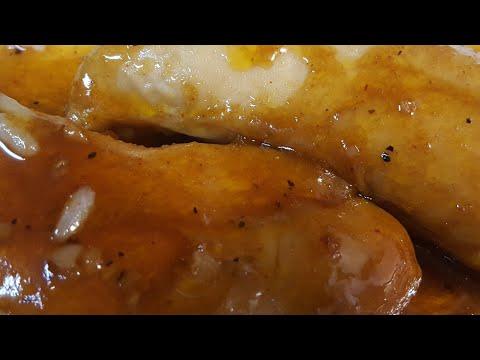 Brown Sugar, Garlic & Butter Glazed Chicken Tenderloins