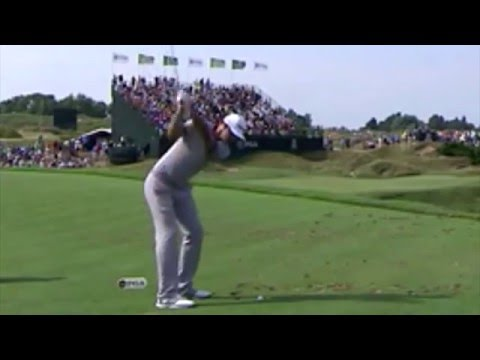 Dustin Johnson Iron | 12th Whistling Straits | PGA Championship