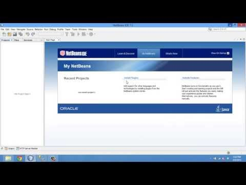 1-Create View from DB (Netbeans 7.3 & SQL2012)(8/4/2013)