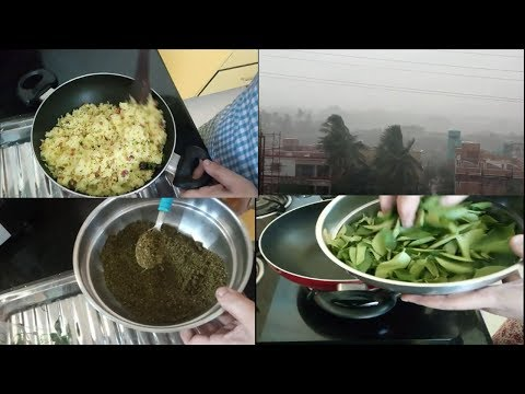 LUNCH BOX RECIPES FOR CHILDREN||CURRY LEAF POWDER||LEMON RICE||RAMA SWEET HOME