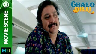 Vinay Pathak indecent behavior in airplane - Chalo Dilli