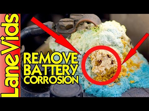 🔋 HOW TO CLEAN CAR BATTERY TERMINALS 🚗 | Car Battery Maintainance 🛠 | LaneVids