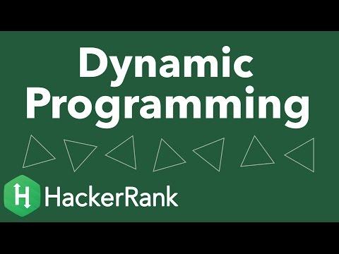 Algorithms: Memoization and Dynamic Programming