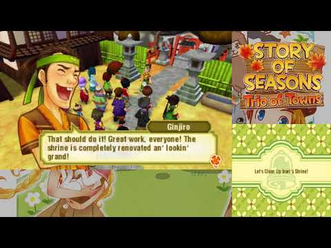 Let's Play Story of Seasons: Trio of Towns 113: Cleanup