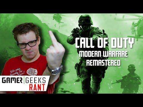 Waarom ik WEIGER Call of Duty: Modern Warfare Remastered te reviewen