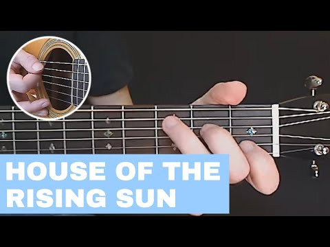 Guitar Lesson - House Of The Rising Sun ✔