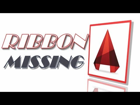 3 Ways to fix AutoCAD Navigation bar and ribbons are missing