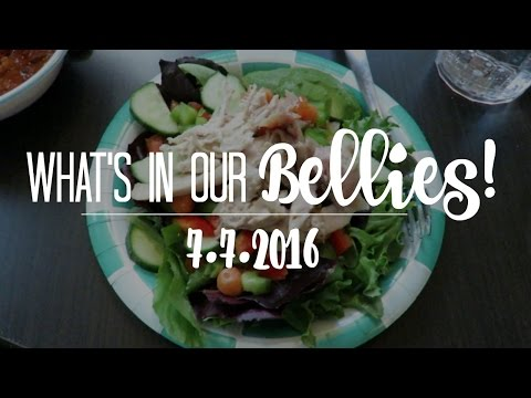 WHAT'S IN OUR BELLIES | 7.7.2016
