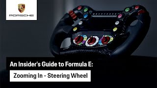 Zooming In: An insider's guide to our Formula E Steering Wheel  | TAG Heuer Porsche Formula E team