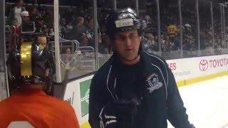 Hockey at Staples