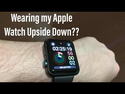 Wearing My Apple Watch Upside Down?? (Reverse Crown)