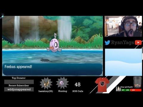 Shiny Feebas via SOS in Pokemon Sun and Moon #2