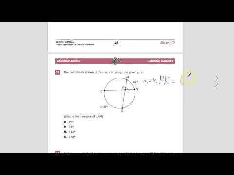 Question 17 - Geometry - TNReady Practice Test