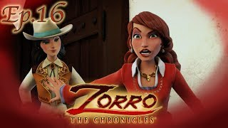 Zorro la leggenda episodio il paladino dei peones cartoni