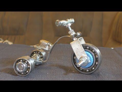 Drift Trike. How to Make а Bicycle - Bike - toy for kids.