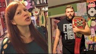 BUYING WWE UNIVERSAL CHAMPIONSHIP TRIGGERERS WIFE INTO PERIOD MODE RAGE!