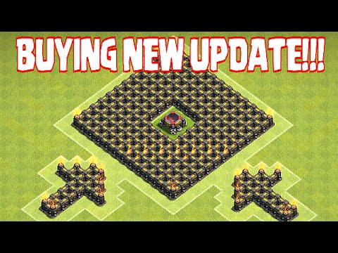 Clash Of Clans - BUYING NEW UPDATE