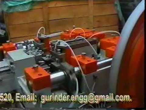 Automatic Nail Making Machines