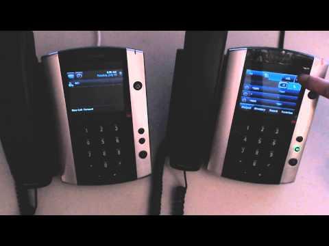 Polycom VVX500 - Retrieve a Voicemail Message