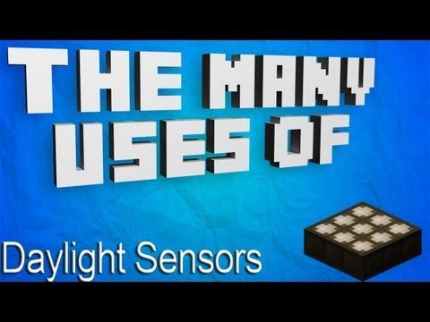 Minecraft - The Many Uses Of: Daylight Sensors