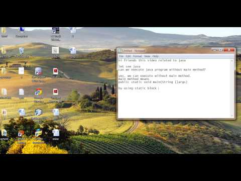 Java run without main method