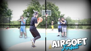 THE 10 SHOT, OR GET SHOT BASKETBALL CHALLENGE WITH THE SQUAD!!