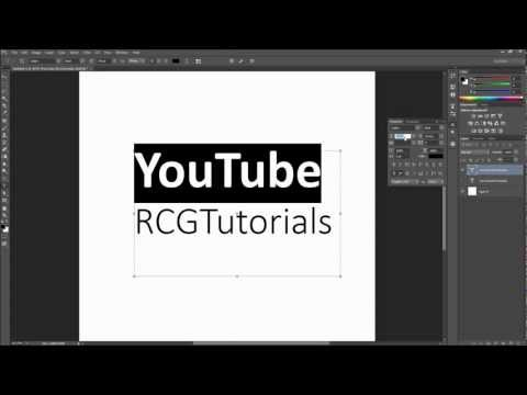 Photoshop Tutorial: Working With Type (Leading, Kerning, Tracking, etc)  -HD-