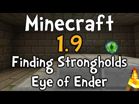 Minecraft 1.9 - How to Find Strongholds (Eye of Ender)