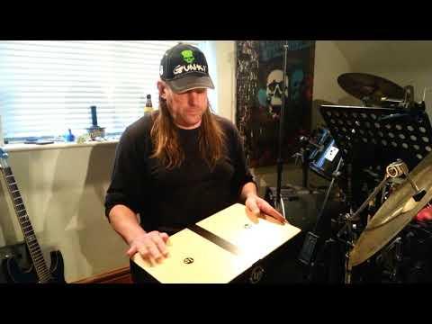 LP laptop conga. Latin Percussion Conga Cajon groove