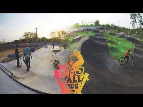 WallRide Park Hyderabad❗️  India's First Pump track😱   Hyderabad❗️  NeoVlogs!