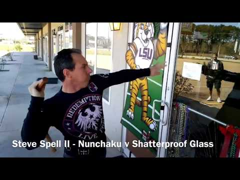 Nunchaku Striking by Steve Spell (Nunchuck Technique)