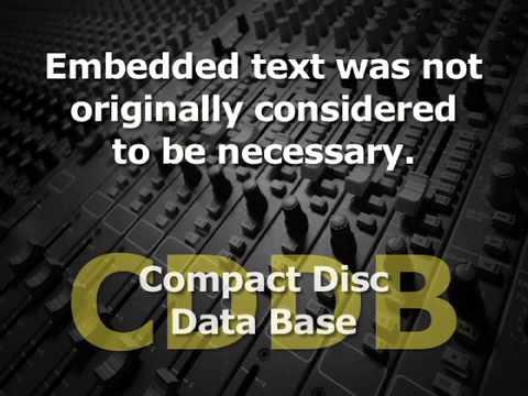 CD Text Info