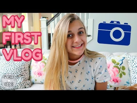 FIRST WEEKLY VLOG ON MY CHANNEL!