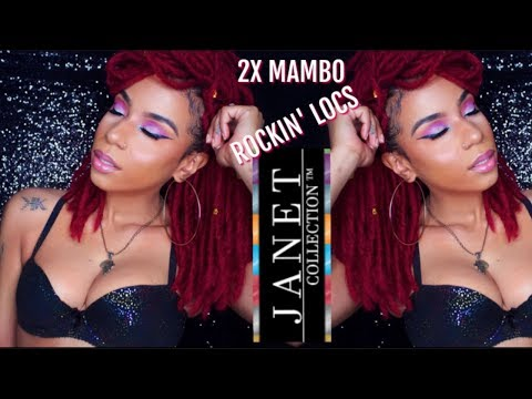 JANET COLLECTION 2X MAMBO ROCKIN' LOCS 12