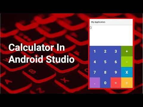 Making A Simple Calculator Application In Android Studio Part-1