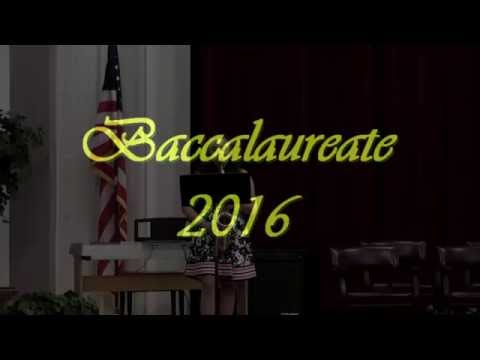 Forest Hills School District Baccalaureate Ceremony 2016