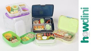 Healthy Lunch Ideas For Kids: How to pack a bento box