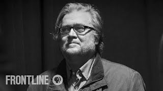 watch steve bannon explain how he sees the world bannons war frontline