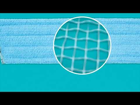 Microfiber Wet Mop Pad Made from 70% Recycled Materials -sales benefit Washed Ashore