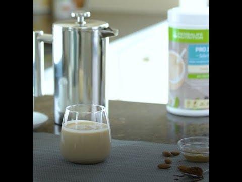 My Herbalife Shake - Café Amandes