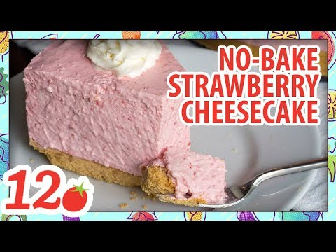 How to Make: No-Bake Strawberry Cheesecake