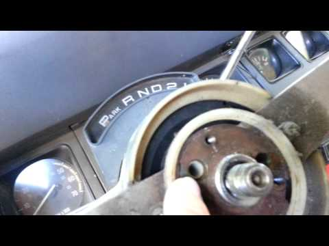 Changing out ignition tumbler key on a 1989 Jeep Wrangler Part 1